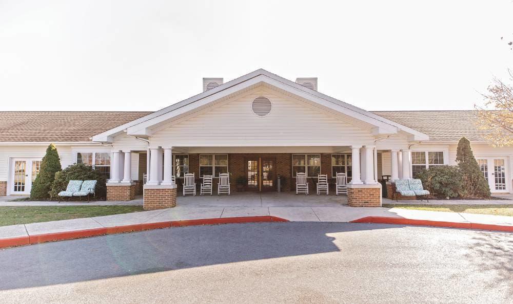 Exterior at Broadmore Senior Living at Hagerstown