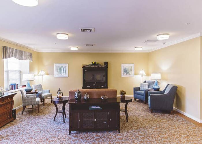 Broadmore Senior Living at Hagerstown's foyer