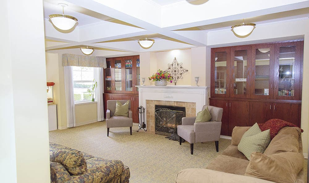 Beautiful Interior Design At The Sequoia Assisted Living Community