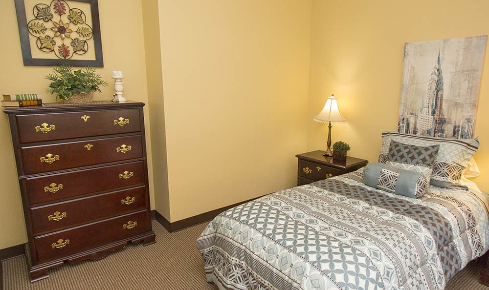 Bedroom At Olympia WA Assisted Living