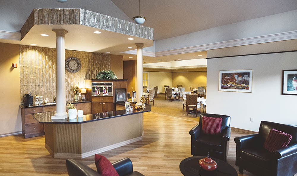 Community Clubhouse At The Sequoia Assisted Living Community