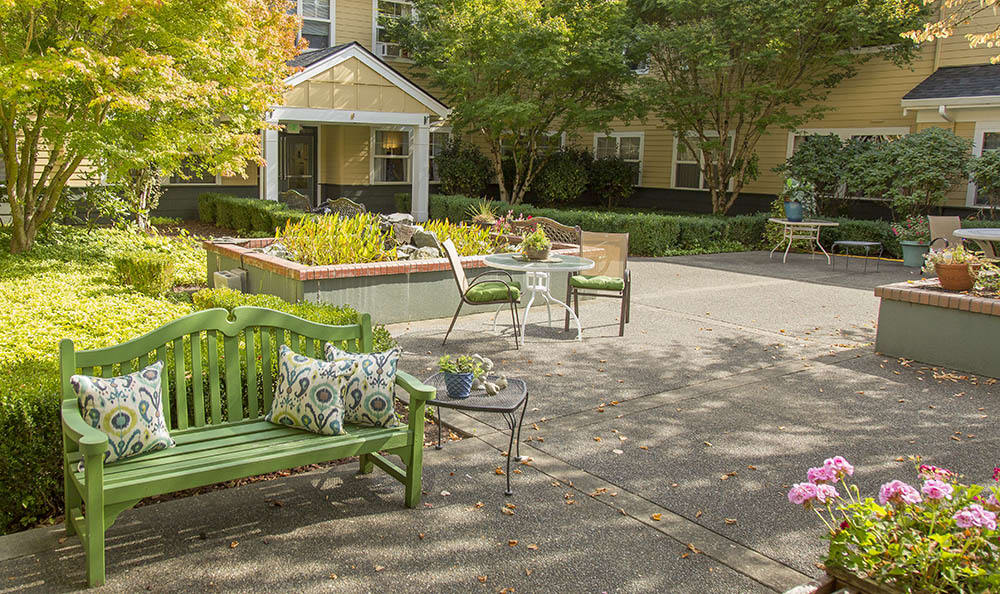 Courtyard At The Center Of Our Community