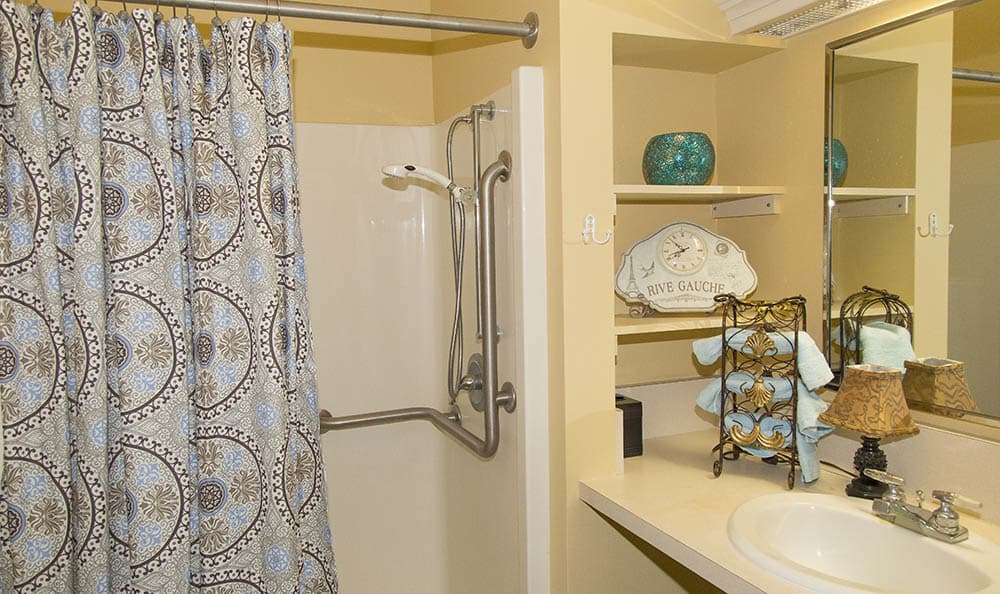 Washroom At The Sequoia Assisted Living Community