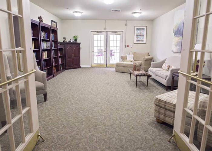 Broadmore Senior Living at Teays Valley game room