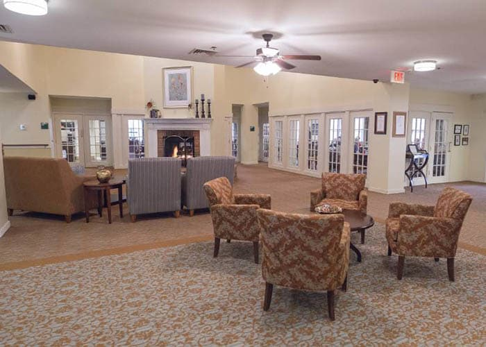 Main building at Broadmore Senior Living at Teays Valley
