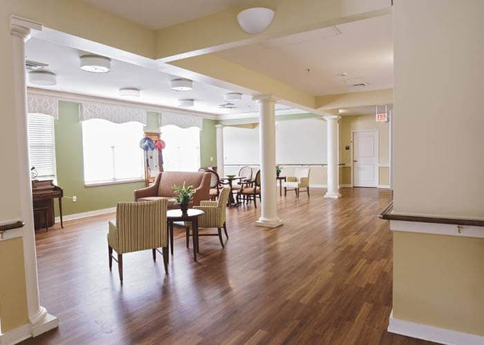 clubhouse at Broadmore Senior Living at Bristol
