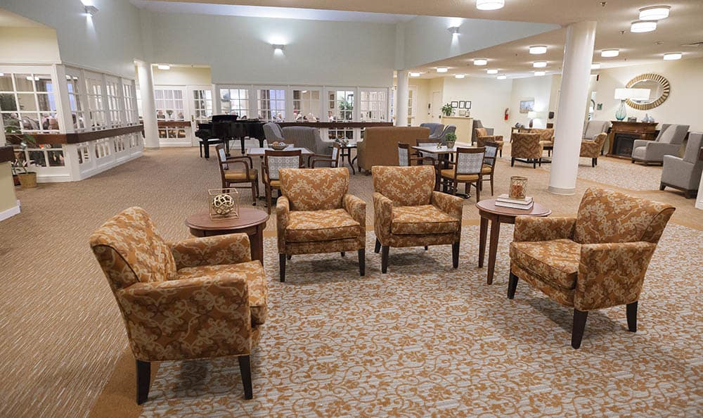 Common Area At Broadmore Senior Living at Johnson City In Johnson City TN