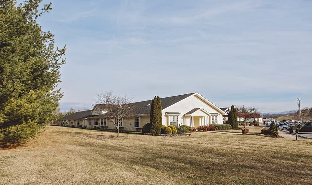 Exterior View Of Broadmore Senior Living at Johnson City