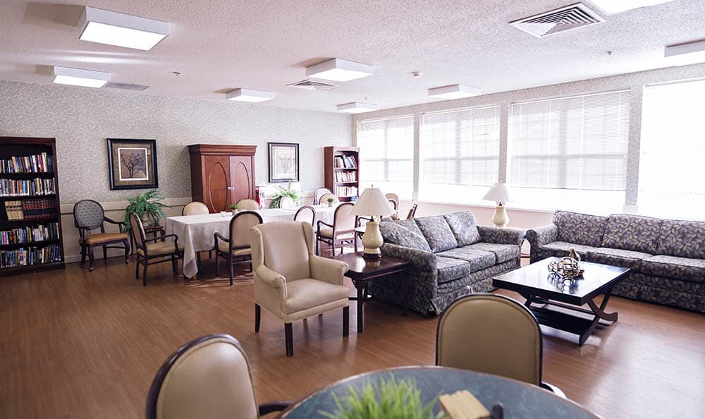 Activity Room At Broadmore Senior Living at Murfreesboro