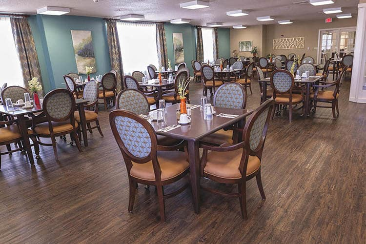 Alternate View Of Our Assisted Living Dinning Hall