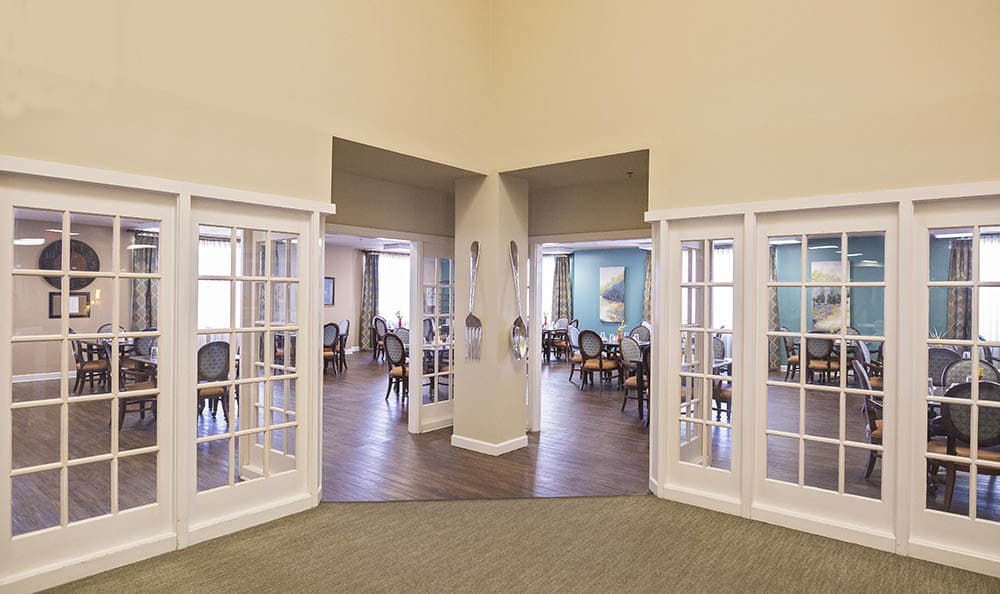 Hardwood Flooring At Broadmore Senior Living at Murfreesboro In Murfreesboro TN