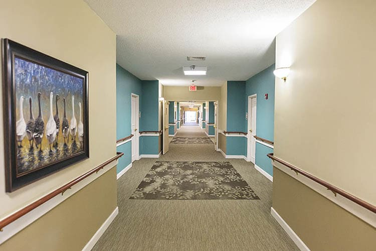 Living Areas At Broadmore Senior Living at Murfreesboro In Murfreesboro TN