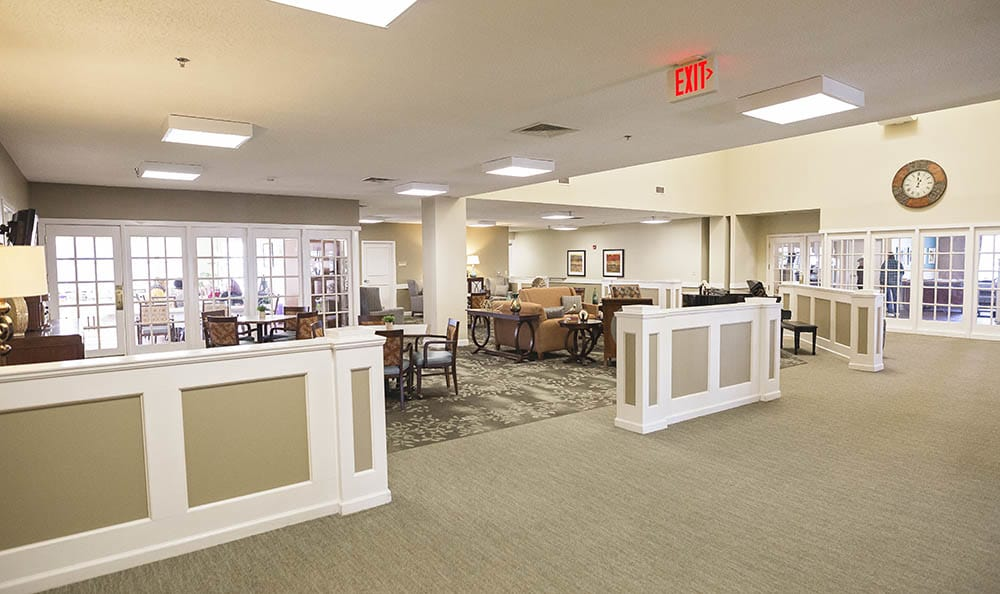 Main Community Area At Broadmore Senior Living at Murfreesboro In Murfreesboro TN