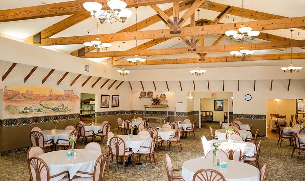 Dining Hall At San Juan Capistrano CA Senior Living