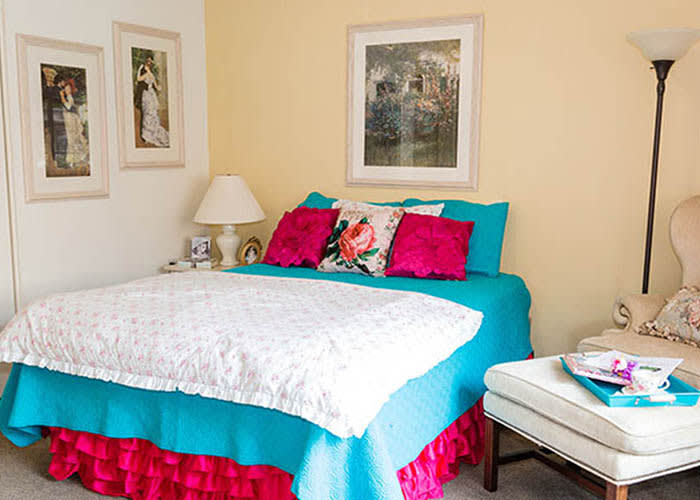 Westminster Terrace Assisted Living Community bedroom