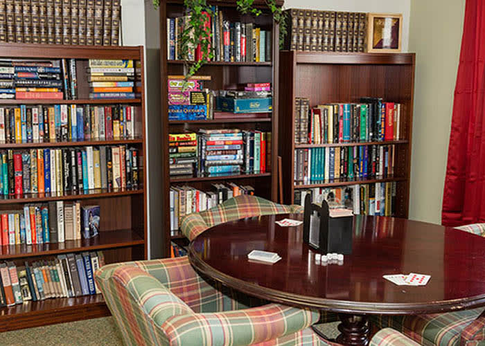 Westminster Terrace Assisted Living Community library