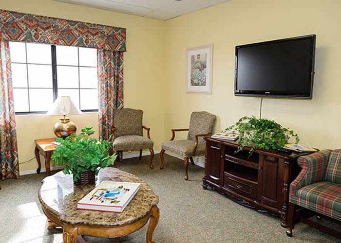 Westminster Terrace Assisted Living Community seating lounge