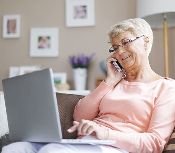 Contact us for more information about Senior Services of America