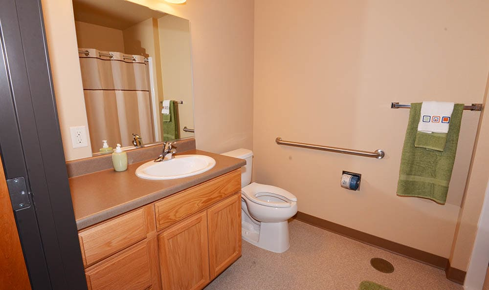 Clean Living Spaces At Mountain Meadows Senior Living Campus S Cottages
