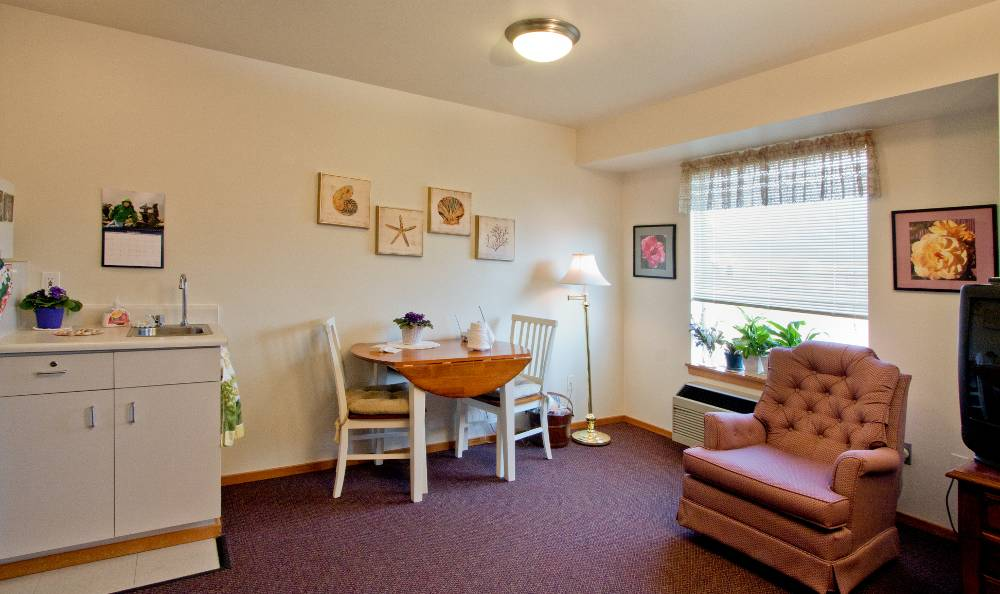 Enjoy the amenities of Mountain Meadows Senior Living Campus