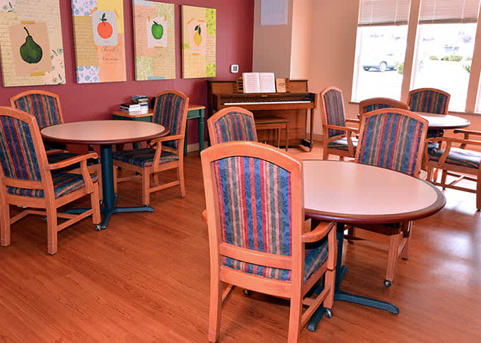 Memory Care Dining Room