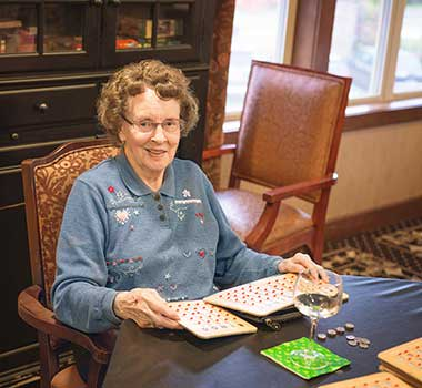 Variety of life enrichment activities at The Lodge at Mallard's Landing