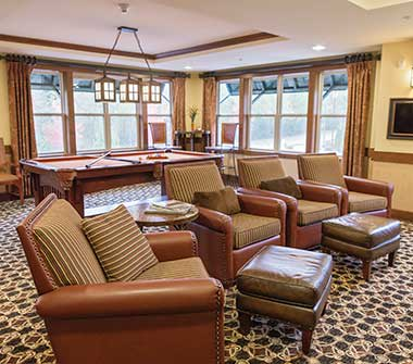 The Lodge at Mallard's Landing offers many different amenities