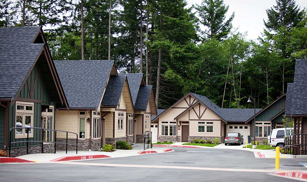Cottages at The Lodge at Mallard's Landing in Gig Harbor, WA