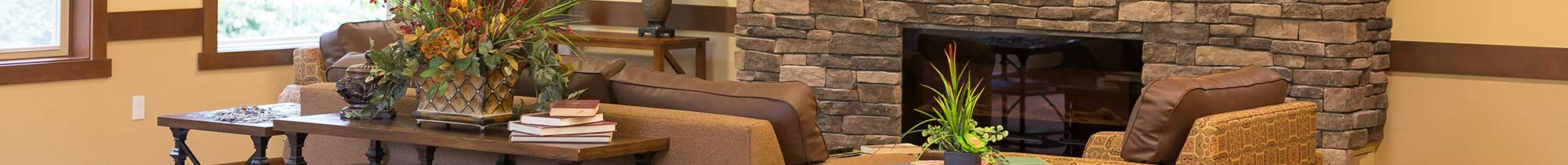 The Lodge at Mallard's Landing offers memory care options for it's residents.