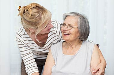 Respite care for loved ones at The Lodge at Mallard's Landing