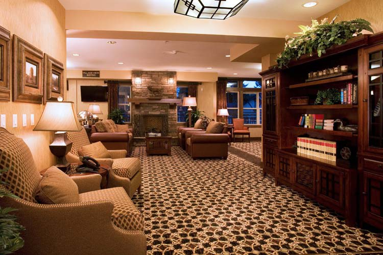 Many areas to gather and enjoy others company at The Lodge at Mallard's Landing