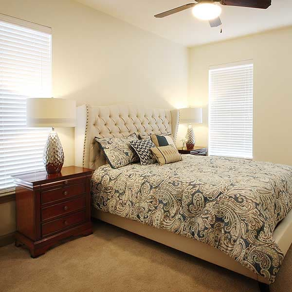 Parkview on Hollybrook model bedroom