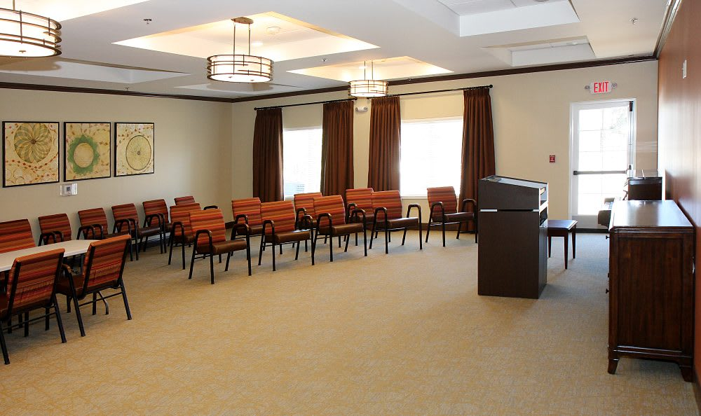 Hall at Cedar Bluff Assisted Living & Memory Care