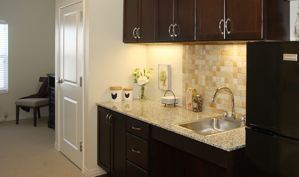 Kitchen at Cedar Bluff Assisted Living & Memory Care