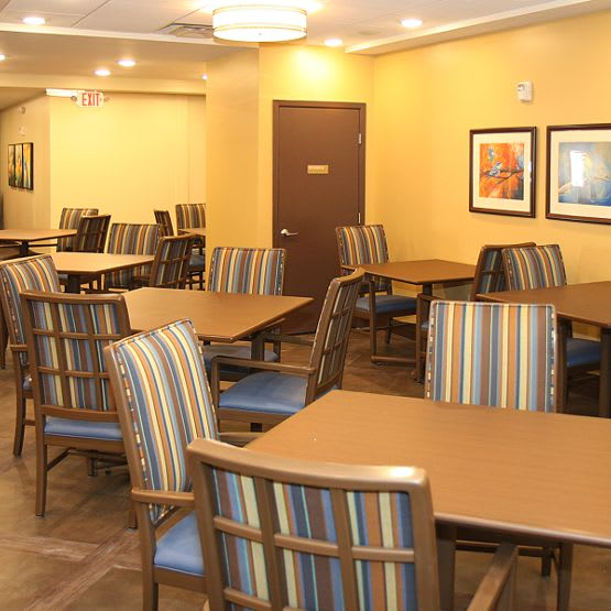hall at Cedar Bluff Assisted Living & Memory Care in Mansfield,TX
