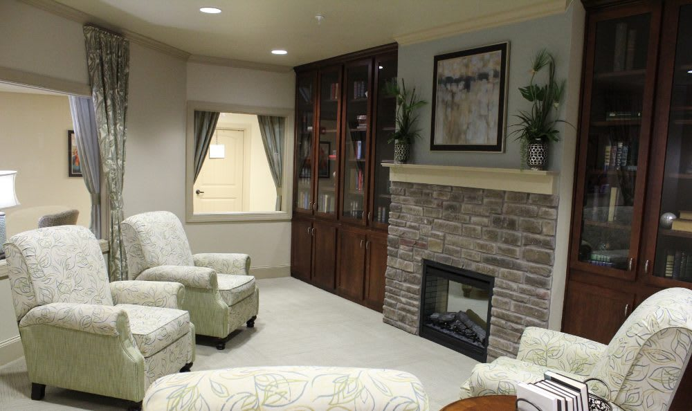 The Springs community living room