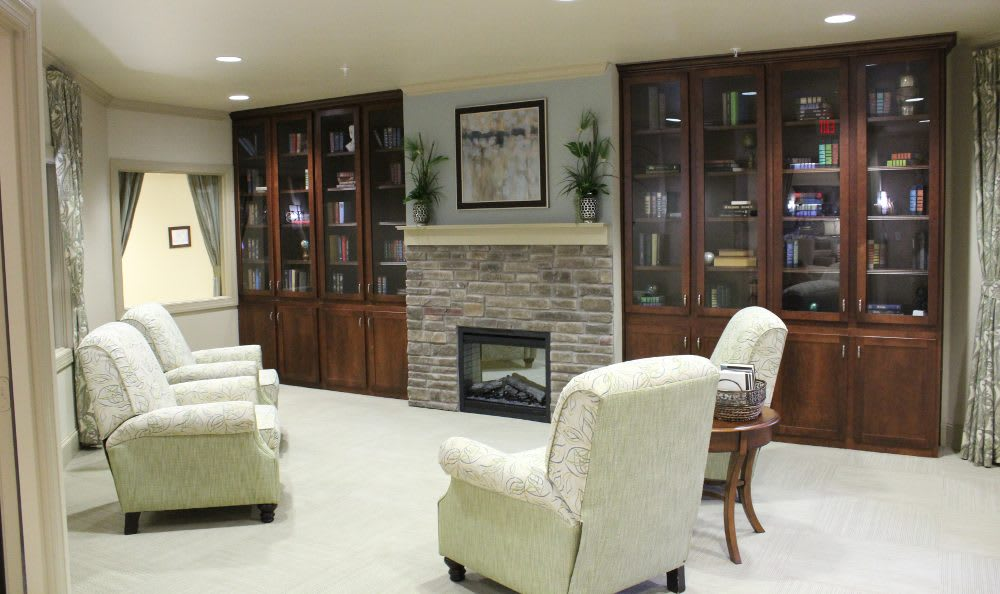 Community living room at The Springs