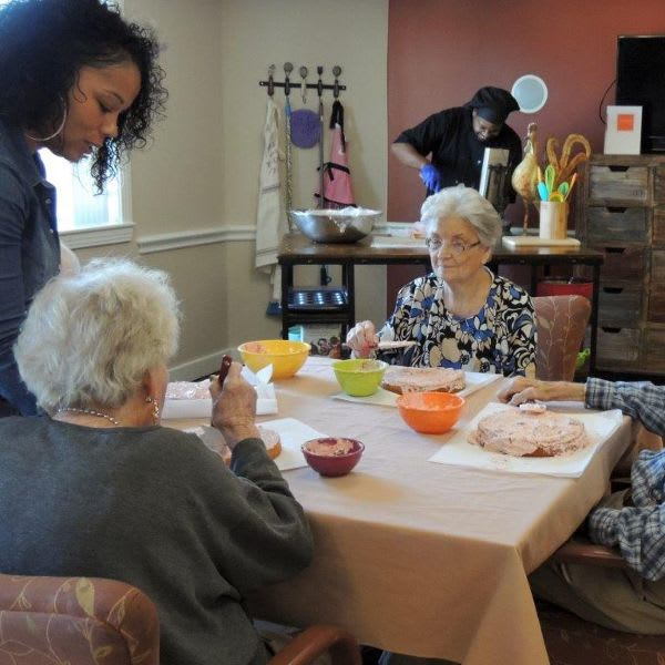 senior living outside activity at Storey Oaks of Oklahoma City in Oklahoma City,OK
