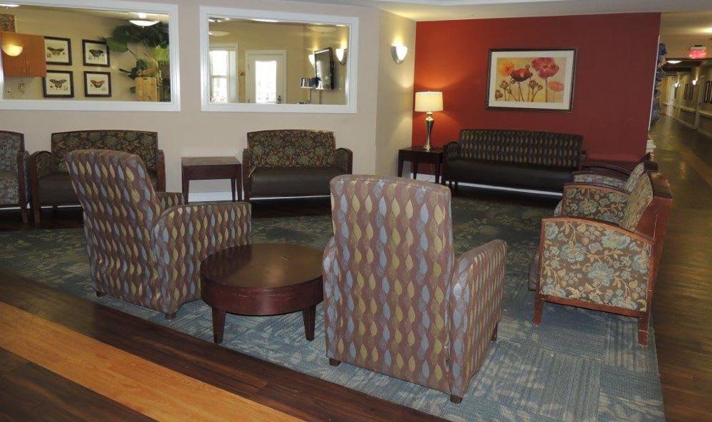 comfy waiting room at Storey Oaks of Oklahoma City in Oklahoma City,OK