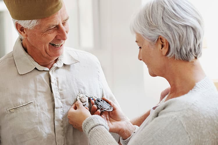 At Cedar Bluff Assisted Living & Memory Care we honor our veterans by offering special resources and financial assistance