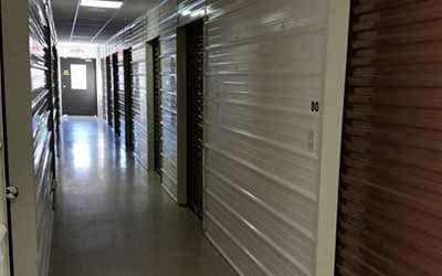 Climate controlled storage units at Mini Storage Depot in Fishers, Indiana