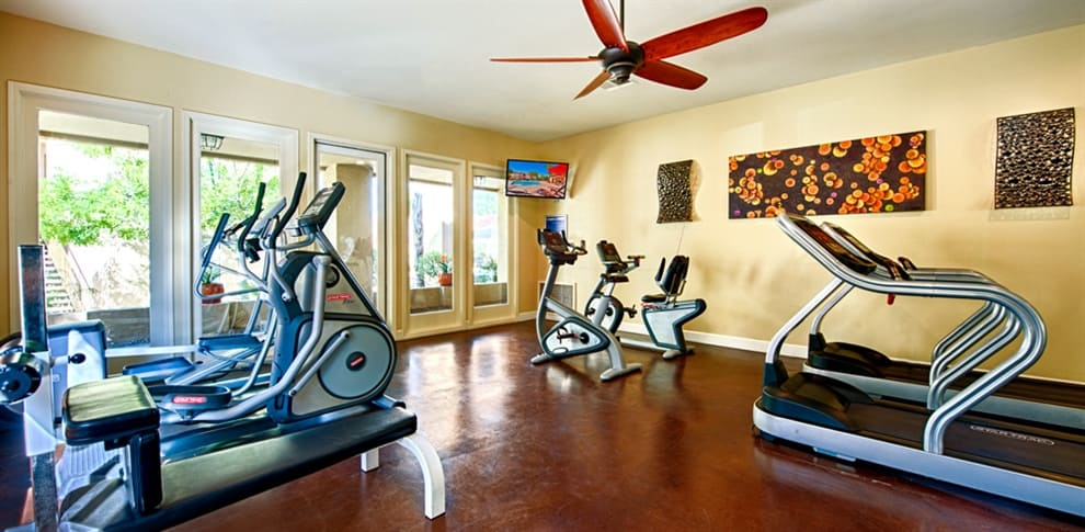 Fitness room at Bella Vista