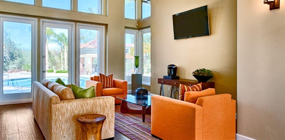 Spacious living room at Bella Vista