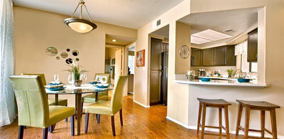 Dining room at Bella Vista