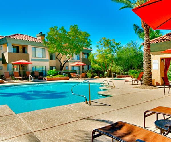 Beautiful pool at Bella Vista