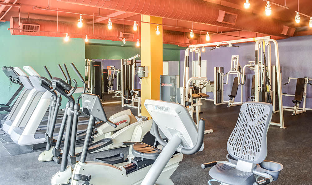 Fitness center at Capri on Camelback