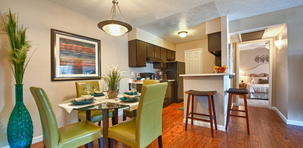 Dining room and Kitchen at Sedona Ridge Apartment