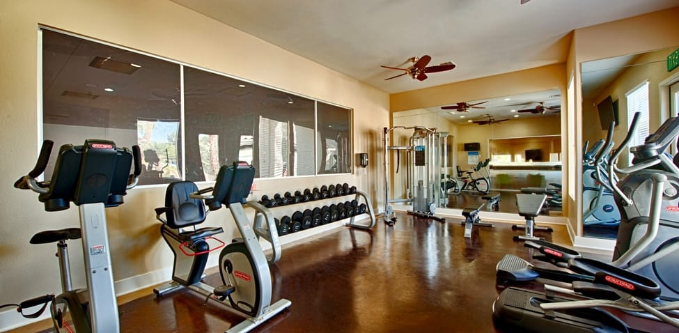 Fitness room at Sedona Ridge