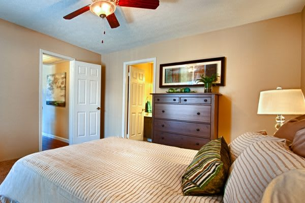 Bedroom at Sedona Ridge Apartment Homes