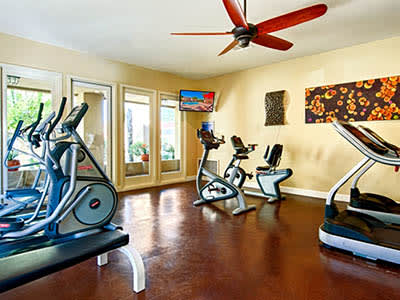 Workout area at Bella Vista